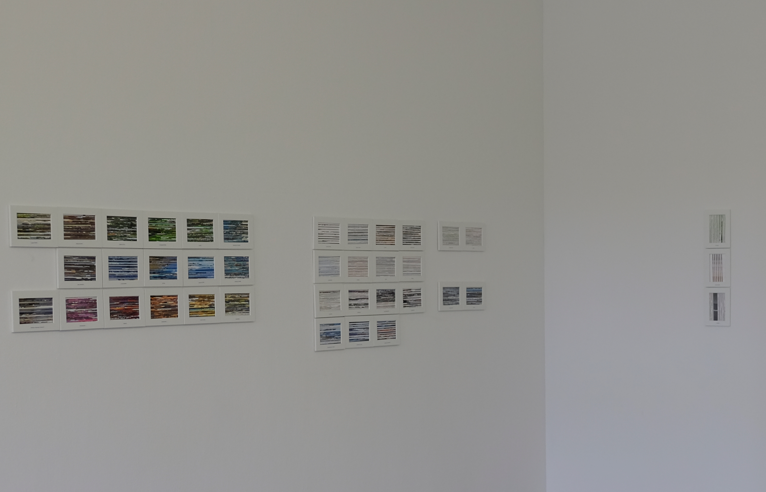 Datenschürze (Ansicht aus der Ausstellung)